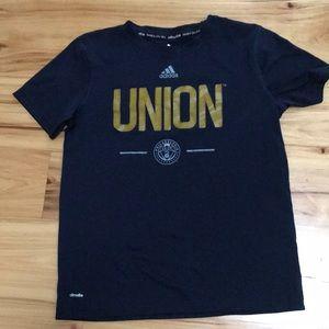 Kids unisex Philadelphia Union Soccer shirt sz M